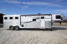 #01096 - New 2015 Lakota Charger 8313GLQ 3 Horse Trailer  with 13' Short Wall