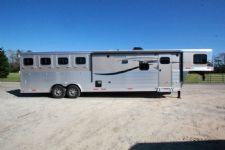 #01098 - New 2015 Lakota Charger 8413GLQ 4 Horse Trailer  with 13' Short Wall