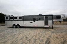 #01124 - New 2015 Lakota Charger 8415GLQ 4 Horse Trailer  with 15' Short Wall