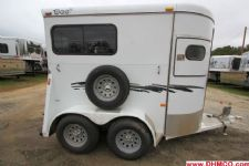 #77376 - Used 2006 Bee Super Bee 2H 2 Horse Trailer