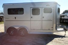 #B1143 - New 2015 Sundowner CHARTER2NBPTRSE 2 Horse Trailer  with 5' Short Wall