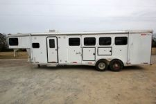 #13186 - Used 2005 Xpress 7410LQ 4 Horse Trailer  with 10' Short Wall