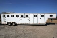 #10408 - Used 1996 Featherlite 6HSLGN 6 Horse Trailer  with 4' Short Wall
