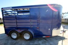#53915 - Used 2007 S&H  2 Horse Trailer  with 2' Short Wall