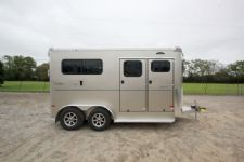 #B1504 - New 2015 Sundowner CHARTER2NBPTRSE 2 Horse Trailer  with 5' Short Wall