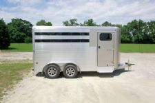 #B1503 - New 2015 Sundowner SS3HBP 3 Horse Trailer  with 2' Short Wall