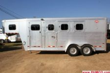 #51162 - Used 2007 Hart 3HSLGN 3 Horse Trailer  with 4' Short Wall