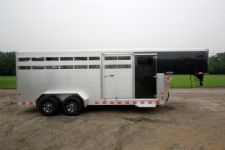 #B1612 - New 2015 Sundowner RANCHER20GNTR Stock Trailer  with 4' Short Wall