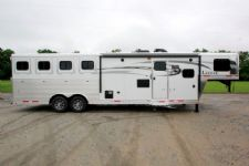#00190 - New 2016 Lakota Charger 8411GLQ 4 Horse Trailer  with 11' Short Wall