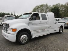 #14960 - Used 2002 Ford F650 Super Crewzer Truck