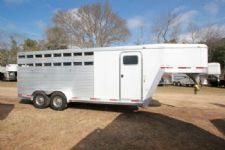 #28256 - Used 2004 Exiss CX400 4 Horse Trailer  with 2' Short Wall