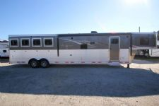 #00756 - New 2015 Lakota 8414GLQ BIGHORN 4 Horse Trailer  with 14' Short Wall
