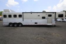 #A6660 - New 2016 Sundowner HORIZON 4H 8016GRS 4 Horse Trailer  with 16' Short Wall