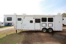 #12349 - Used 2004 Horton 8310LQ 3 Horse Trailer  with 10' Short Wall