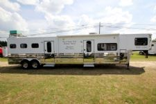 #A1392 - Used 2005 Sundowner 8313 MT LQ 3 Horse Trailer  with 13' Short Wall