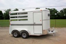 #77112 - New 2015 Bee 2HBPSL 2 Horse Trailer  with 2' Short Wall