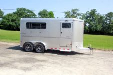 #B2048 - New 2015 Sundowner SPORTMAN3HBP 3 Horse Trailer  with 3' Short Wall