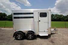 #B2155 - New 2016 Sundowner SS2HBP 2 Horse Trailer  with 2' Short Wall