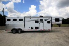 #00673 - New 2016 Lakota 7311GLQ Charger 3 Horse Trailer  with 11' Short Wall