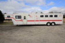 #51898 - Used 1994 Hart 8410MTLQ 4 Horse Trailer  with 10' Short Wall