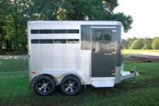 #B1936 - New 2016 Sundowner SS2HBP 2 Horse Trailer  with 2' Short Wall