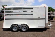 #77173 - New 2016 Bee 3HBPSL 3 Horse Trailer  with 2' Short Wall
