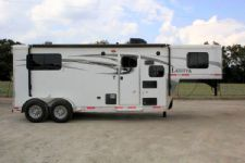 #00715 - New 2016 Lakota Lakota Charger 7207LQ 2 Horse Trailer  with 7' Short Wall