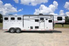 #00735 - New 2016 Lakota 7311LQ Charger 3 Horse Trailer  with 11' Short Wall