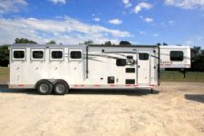 #00732 - New 2016 Lakota 7409LQ Charger 4 Horse Trailer  with 9' Short Wall