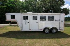 #58285 - Used 2003 Featherlite 7360LQ 3 Horse Trailer  with 5' Short Wall