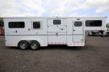 #B2420 - New 2016 Sundowner CHARTER2HGNTRSE2+1 2 Horse Trailer  with 4' Short Wall
