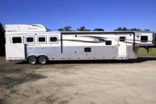 #00791 - New 2016 Lakota 8416GLQ BIGHORN UG 4 Horse Trailer  with 16' Short Wall