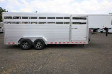 #B2466 - New 2016 Sundowner RANCHER20GN Stock Trailer