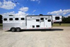 #00793 - New 2016 Lakota 7411GLQ Charger 4 Horse Trailer  with 11' Short Wall