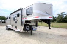 #00797 - New 2016 Lakota Lakota Charger 7309LQ 3 Horse Trailer  with 9' Short Wall