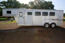 #30408 - Used 2004 Exiss ES400 4 Horse Trailer  with 4' Short Wall