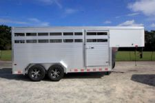#B2539 - New 2016 Sundowner RANCHER16GN Stock Trailer