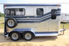 #00622 - Used 1986 Trail-et  2 Horse Trailer  with 4' Short Wall