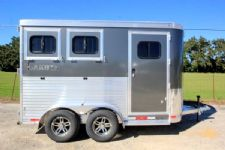#00934 - New 2016 Lakota 2HBPSL 2 Horse Trailer  with 2' Short Wall
