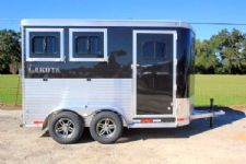 #00935 - New 2016 Lakota 2HBPSL 2 Horse Trailer  with 2' Short Wall