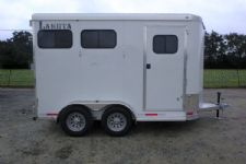 #00939 - New 2016 Lakota 2HBPSL 2 Horse Trailer  with 2' Short Wall