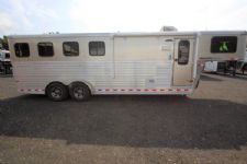 #A6303 - Used 2015 Sundowner 6906LQ Horizon 4 Horse Trailer  with 6' Short Wall