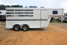 #77179 - New 2016 Bee 3HGNSL 3 Horse Trailer  with 2' Short Wall