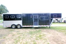 #29078 - Used 2000 Featherlite 8313 LQ 3 Horse Trailer  with 13' Short Wall