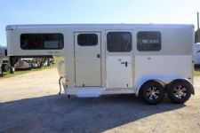 #B2852 - New 2016 Sundowner SS2HGN 2 Horse Trailer  with 2' Short Wall