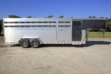 #B2860 - New 2016 Sundowner RANCHER24GNTR Stock Trailer  with 4' Short Wall