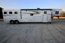 #01084 - New 2016 Lakota 8314GLQ BIGHORN 3 Horse Trailer  with 14' Short Wall
