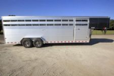 #B2958 - New 2016 Sundowner RANCHER24GN Stock Trailer