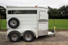 #48270 - Used 2003 S&H 2HST 2 Horse Trailer