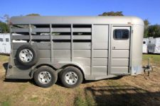 #37532 - Used 2011 Triple B Pro Stock 3 Horse Trailer  with 2' Short Wall